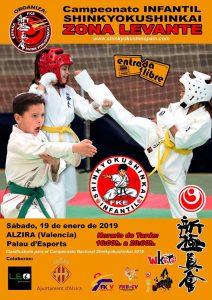 cartell karate shinkiokushin - Alzira Radio notícies d'Alzira